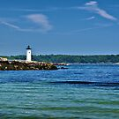 Newcastle NH Lighthouse by Edward Myers