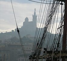 Le Vieux Port of Marseille by Josep M Penalver