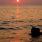 Croatian sunsets by Ian Middleton