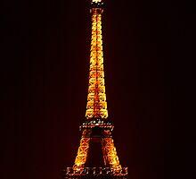 Eiffel Tower by Mick Burkey