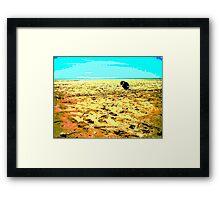 Gone Fishing ~ Buffalo Creek ~ Northern Territory Framed Print