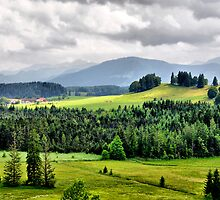 Allgäu Germany by Daidalos