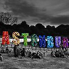 Happy Birthday Glastonbury by Steve Briscoe