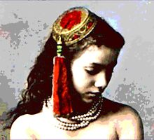 "Vintage Moroccan Beauty  ""The Concubine"" by Virinia  Downham"