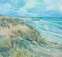 High Tide at the Dune by Sharole Ewing