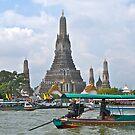 Thailand,Bangkok, Wat Arun, Temple of Dawn. by johnrf