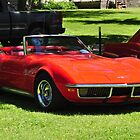 Red Corvette Stingray by mltrue