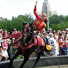 Kazakh Horse Acrobatics on Astana Day by KZBlog