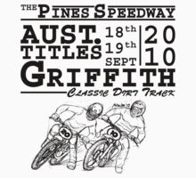 Griffith Aust. Titles STICKER by Michael Lee