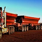 Kenworth Quad Road-Train by PjSPhotography