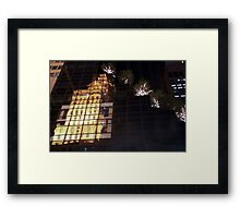 Reflecting on 5th Avenue Framed Print