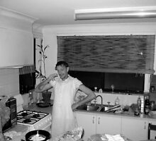 In The Kitchen by John Douglas