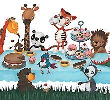 Tea Party by Sarah Preston