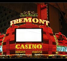 Fremont Casino - Las Vegas by Tim Topping