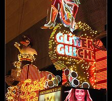 Glitter Gulch Casino - Las Vegas by Tim Topping