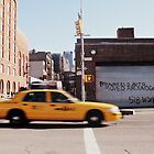 downtown nyc cabs by davorjakov