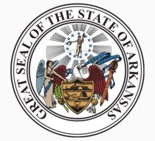 Arkansas State Seal by GreatSeal