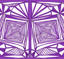 Purple Pattern Proposed 4 Picture Portal by KazM