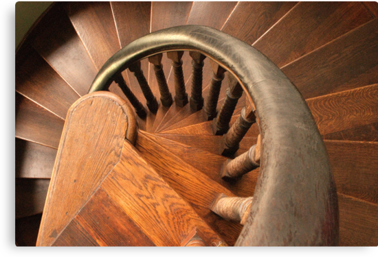 Spiral staircase by Stephen Knowles