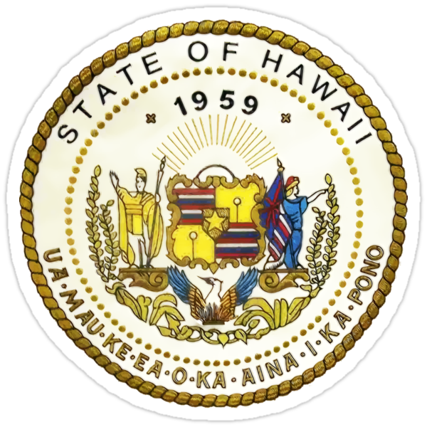 Hawaii State Seal by GreatSeal