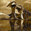 Falkirk Wheel by Jim Wilson