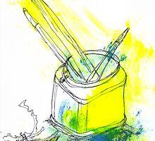 Brushes by Anwuli Chukwurah