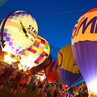 The Great Balloon Fair by artistjanebush