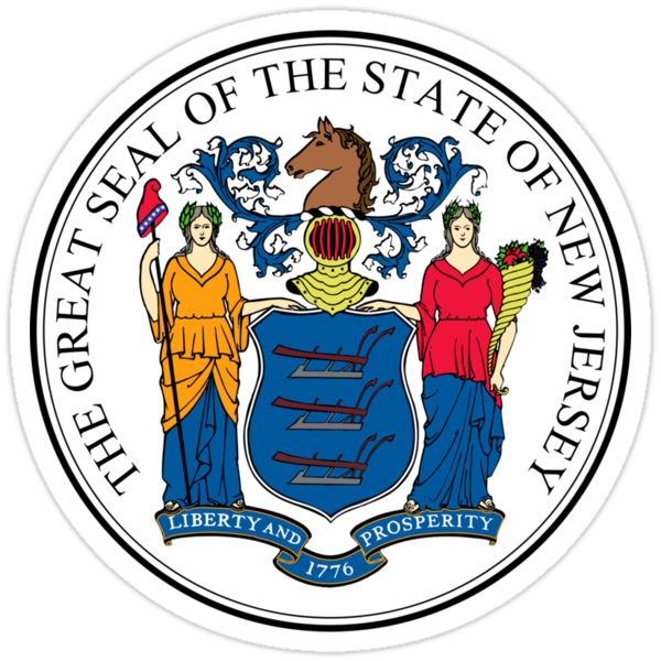 New Jersey State Seal by GreatSeal