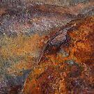 Iron ~ Metal in Abstract by Alixzandra