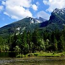 Hintersee and Hochkalter. by Daidalos