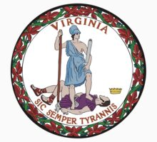 Virginia State Seal by GreatSeal