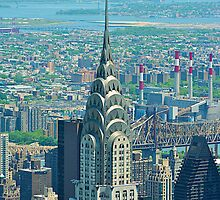 Chrysler Building in New York City by Josef Pittner