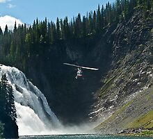 Kinuso Falls by peaceofthenorth