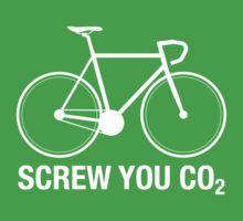 SCREW YOU CO2 | White Ink by TweetTees