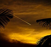Vapour Trail. by Keith Irving