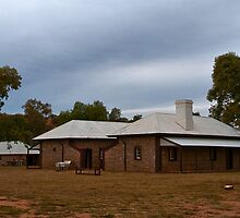 A Town Begins - Alice Springs Telegraph Station by mspfoto