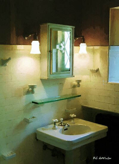 Seventh Sister's Master Bath by RC deWinter