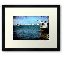 View From The Promenade Framed Print