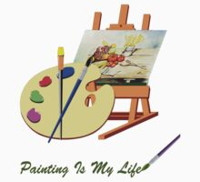 Painting Is My Life by imagetj