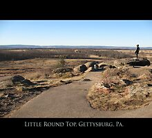 View from Little Round Top by Theodore Kemp