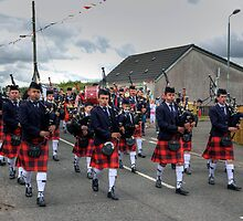 Coalburn Pipe Band by Tom Gomez