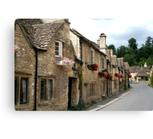 The Street, Castle Combe Canvas Print