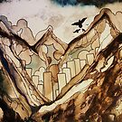 the city below by Daisy Watson