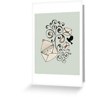 do you miss me? Greeting Card