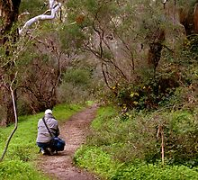 Another photographer on location - Morialta Conservation Park, South Australia by Nathan Lam
