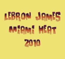 Lebron James Miami Heat 4 by NewestShirts