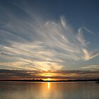 Sunset in TigerMullet Channel I by Shelley Fitzgibbons