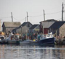 Menemsha Port by phil decocco