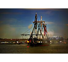 Independence Day Celebration with USS Constitution  Photographic Print