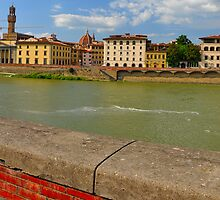 Arno River Quay II by Denis Molodkin